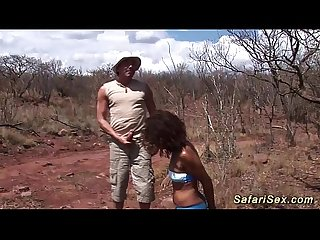 Extreme safari Bdsm fetish fuck