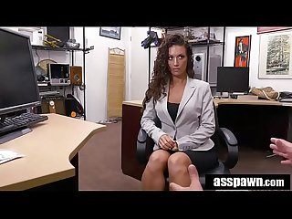 Real Spycam sex Victoria banxxx trades sex for a laptop