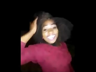 Real mzansi student loses her shit at a local party , goes crazy..
