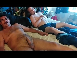 Little white boy suckin off his friends dad