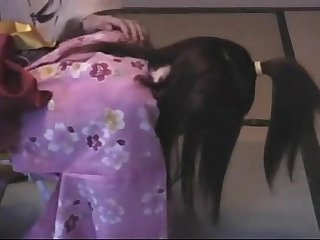 002 yukata girl spanked