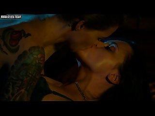 Christina ricci Ruby rose topless lesbian sex scene around the Block 2013