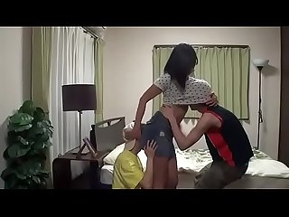 Youn gang seduced by friend s Mom