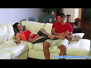 Taboo massaged stepmom fucked by stepson