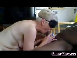 Granny wants a big black cock in her