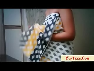 Indian College Girl Changing Cloths