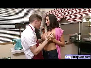 Big boobs mommy Ariella ferrera love and enjoy hard style sex clip 04