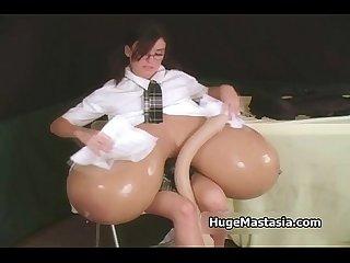 Huge tits schoolgirls