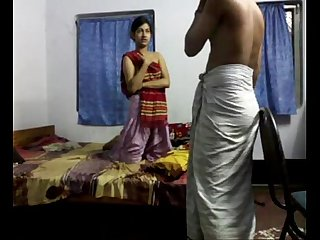 Bengali hot Couple homemade Sex Scandal on bedroom wowmoyback