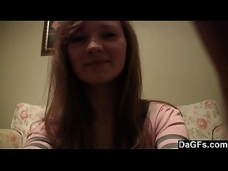 Cute teen s first time on cam