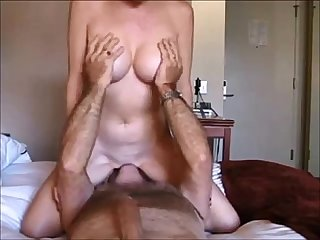 Milf creampied on real homemade
