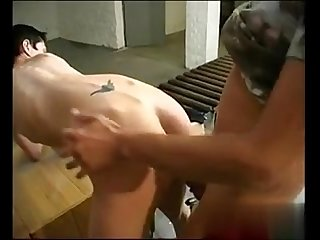 Short hair petit tomboy with nice tits gets fucked on break