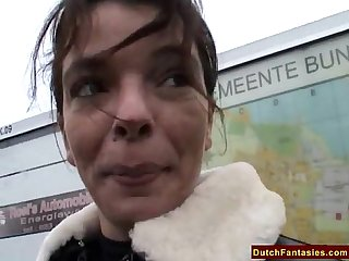 Dutch mom teaches shy son sex