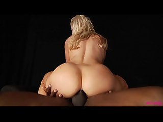 Ashley Fires ass fucked by black monster