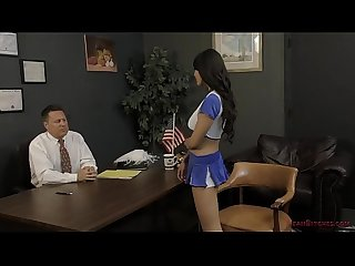 Asian cheerleader takes over the school brenna sparks femdom