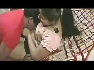 Couple enjoying in Telugu movie