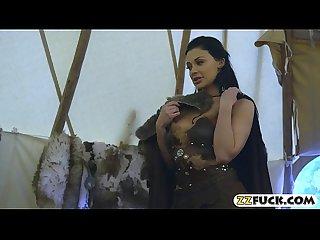 Luscious pornstar aletta ocean slammed by big hard cock