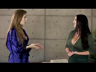 I've never done something like that before! - Lena Paul and Angela White