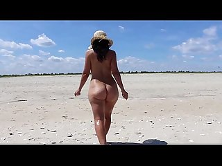 Hot Mom MILF At The Beach