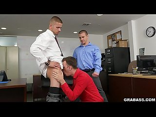 Office guys fuck that intern from tech on grabass xd15860