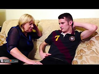 Agedlove mature Trisha and handy man Sam bourne