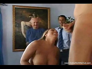 Big tits natural blonde swinger
