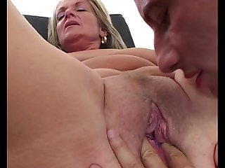 Sexy brunette milf fisted and fucked outdoor