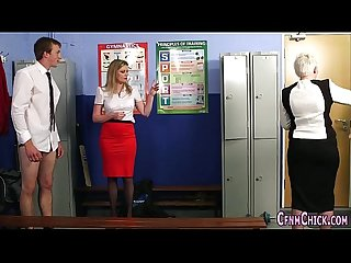 Cfnm brit mistress sperm