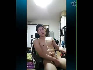 Handsome Korean sucking