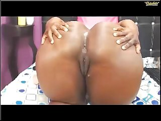 ebony bigass anal april 2016