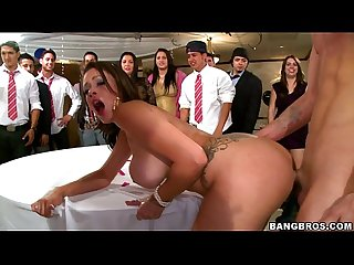 Bangbros pornstars crash the college party fuckfest