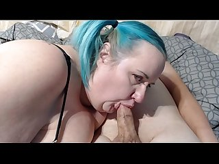 Ssbbw camwhore thesweetsav takes ant s cam virginity with a blowjob