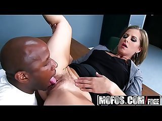 Mofos - Milfs Like It Black - Melissa Rose - Officer MILF Dirty Cop
