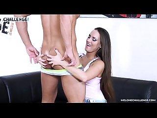 Perverted cougar eats jummy stripper s semen on a casting