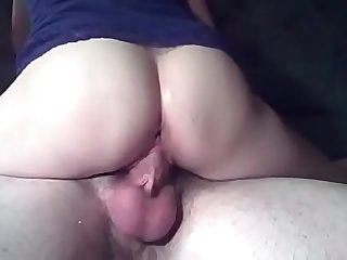 Giant cock barely fit into her super tight pussy on www period camsex period fun