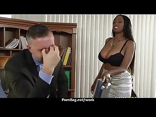Sexstar secretary analized in the Office 25