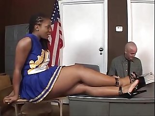 Tara ebony cheerleader