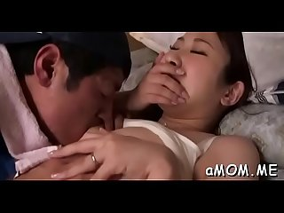 Hot asian mother i d like to fuck loves her first web camera play with younger man