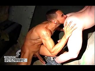 Cubano big massive cock fucking white cumdump guy