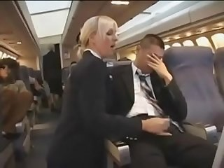 Excellent handjob service from sexy air hostess pt2 on hdmilfcam com