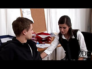 Sexy young little caprice doing a blowjob gets cumshot