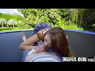 Mofos - Pervs On Patrol - (Bambino) - Big Tit Babe Twerks on Trampoline