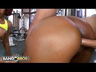 BANGBROS - Gymnasim Ass Pounding! With Jessica Dawn & Julissa James