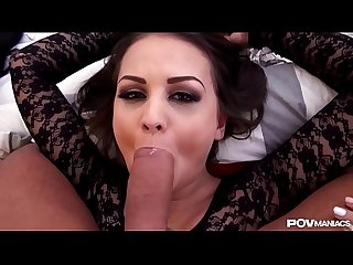 The POV Trifecta - Anina Silk, Candee Licious & Virginie share Your Cock