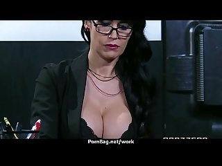 Big titted office milf fucks at work 23
