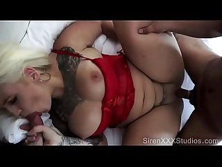 Pawg lucky B dallas fucks two guys