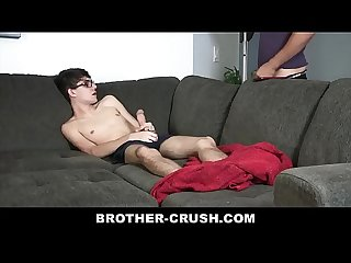 Little Stepbrother With Huge Dick Enjoys Getting Filled With Cum - BROTHER-CRUSH.COM