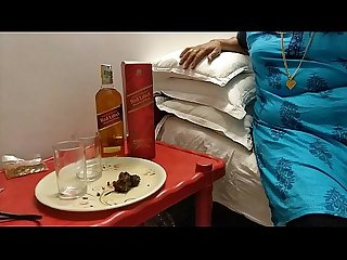 Desi Mallu Kerala honey house wife gift johnnie walker red label thanks for extreme pressure alcohol