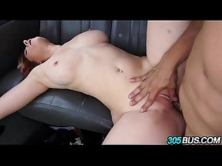 Big tit redhead begs for anal threesome 2.6