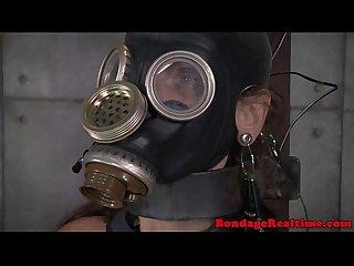 Bondage slave emma haize spanked roughly